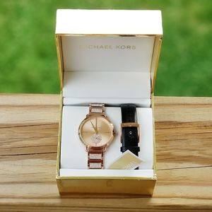 Michael Kors Portia Watch SET Pink